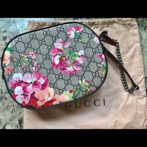 2cd5c41568ff Gucci Bags | Blooms Gg Supreme Mini Chain Bag | Poshmark